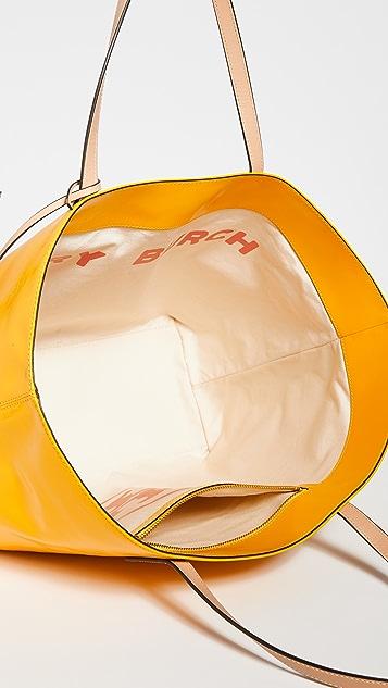 Tory Burch Объемная сумка с короткими ручками Milo