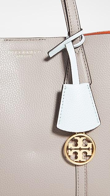 Tory Burch Небольшая объемная сумка с короткими ручками Perry