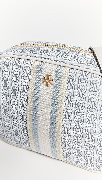 Tory Burch Gemini Link Canvas Mini Bag
