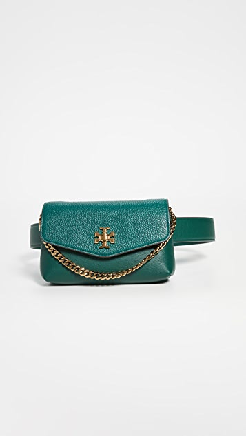 Tory Burch Kira Mixed Materials Belt Bag
