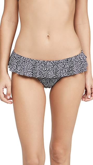 Tory Burch Printed Ruffle Bottoms