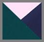 жокейский зеленый/розовый/темно-синий Tory