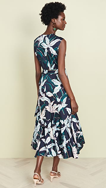 Tory Burch Printed Wrap Dress