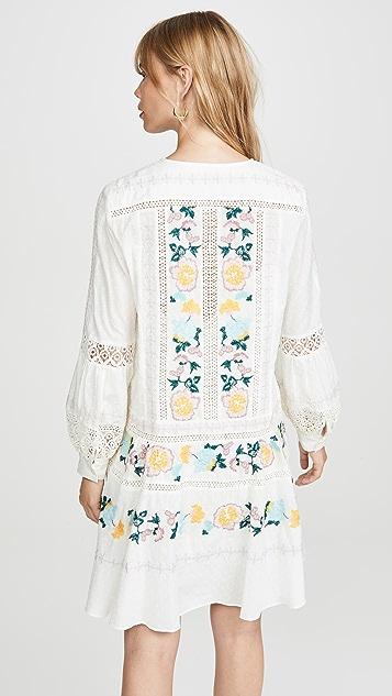 Tory Burch Richa Swiss Dot Cotton Dress