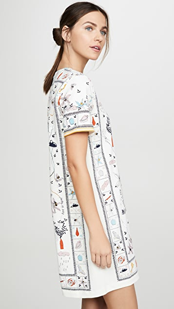 Tory Burch Printed T-Shirt Dress