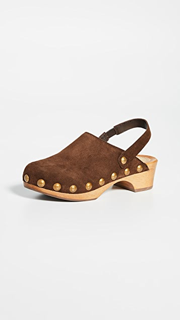 Tory Burch 50mm Blythe Studded Clogs