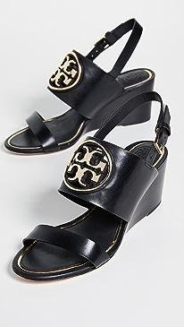 Metal Miller 65mm Wedge Sandals