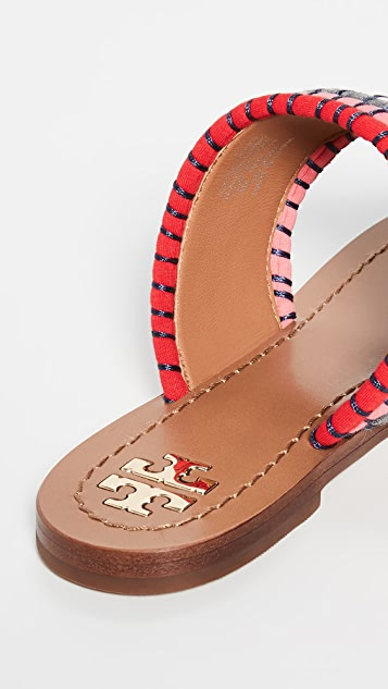 Tory Burch Patos Disk 凉鞋