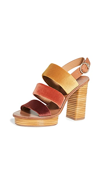 Tory Burch Patos 105mm Sandals