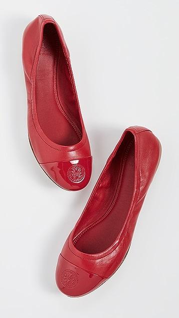 Tory Burch Exclusive Cap Toe Ballet Flats