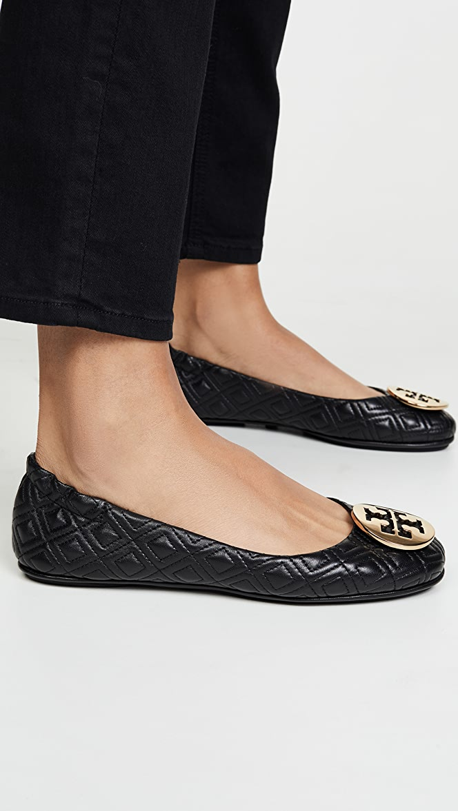Tory Burch Quilted Minnie Flats | SHOPBOP