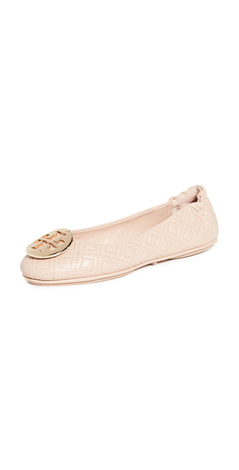 Tory Burch Quilted Minnie Flats