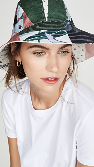 d2ce06eee Floral Patchwork Hat