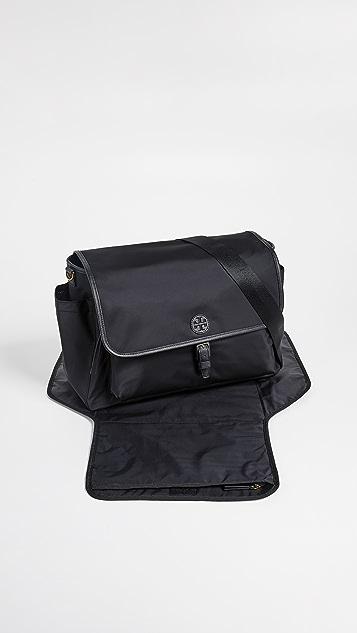 Tory Burch Scout Nylon Messenger Baby Bag
