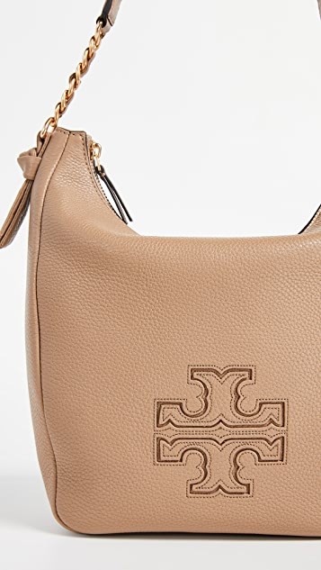 Tory Burch Harper Zip Hobo