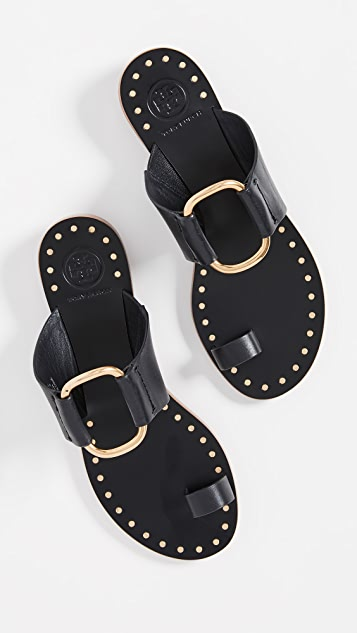 Tory Burch Ravello 钉饰凉鞋