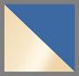 Rolled Brass/Blue