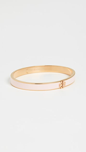 Tory Burch Kira Enamel Hinged Bracelet