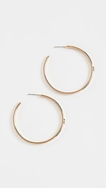 Tory Burch Kira Hoop Earrings
