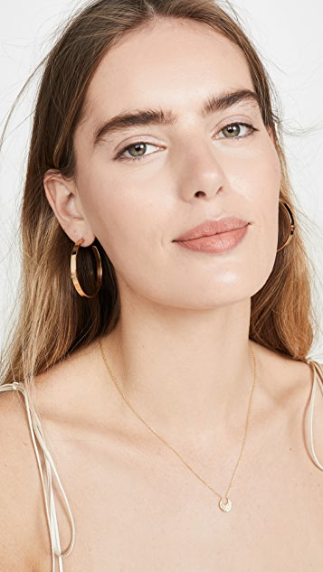 Tory Burch Kira Hoop Earrings