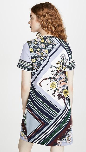 Tory Burch 印花 T 恤连衣裙