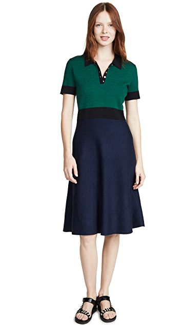 Tory Burch Colorblock Sweater Dress
