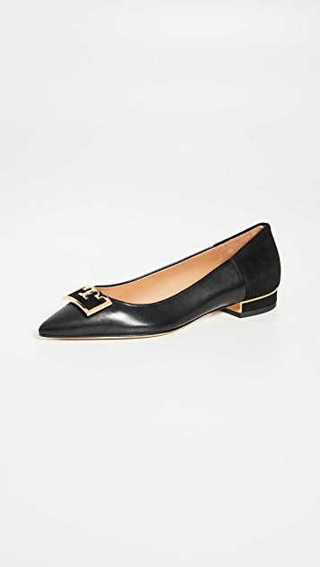 Tory Burch Gigi Pointed Toe Flats