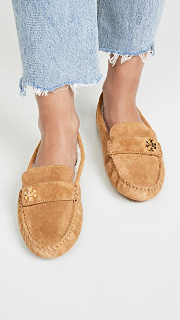 Tory Burch Kira Shearling Drivers