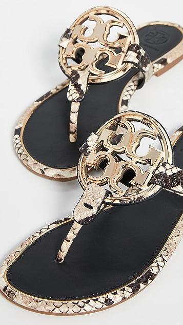 Tory Burch Metal Miller Sandals
