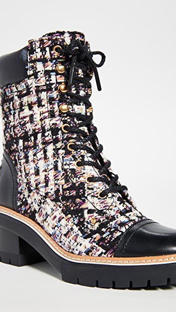 Tory Burch Miller 60mm Lug Sole Booties