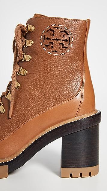 Tory Burch Miller 沟纹鞋底短靴
