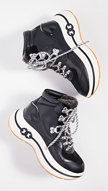Tory Burch Прогулочные ботинки на платформе Gemini Link