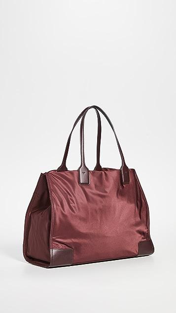 Tory Burch Объемная сумка с короткими ручками Ella