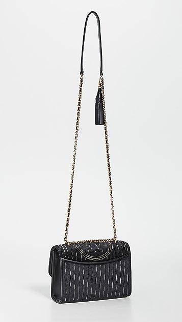 Tory Burch Fleming Mini Stud Small Shoulder Bag