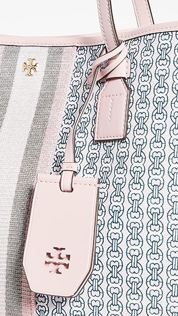 Tory Burch 双链式帆布手提袋