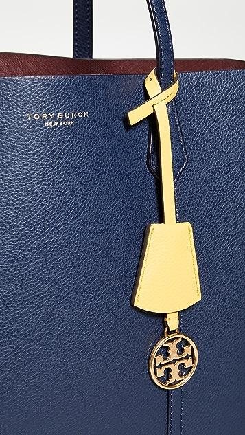 Tory Burch Объемная сумка с короткими ручками Perry с тремя отделениями