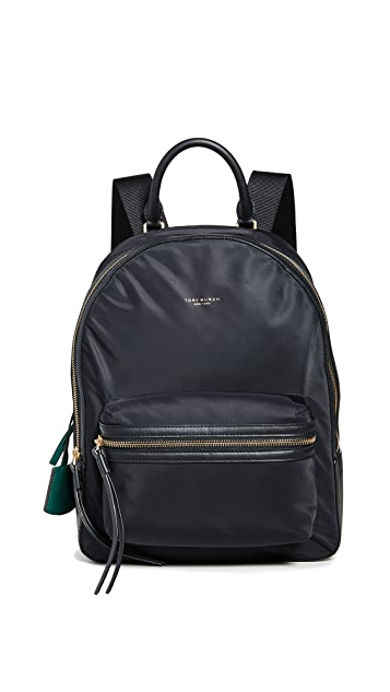 Tory Burch Perry Nylon Zip Backpack