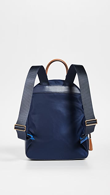 Tory Burch Perry Nylon Colorblock Backpack