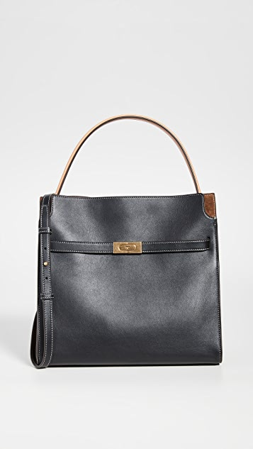 Tory Burch Lee Radziwill Deconstructed Soft Satchel