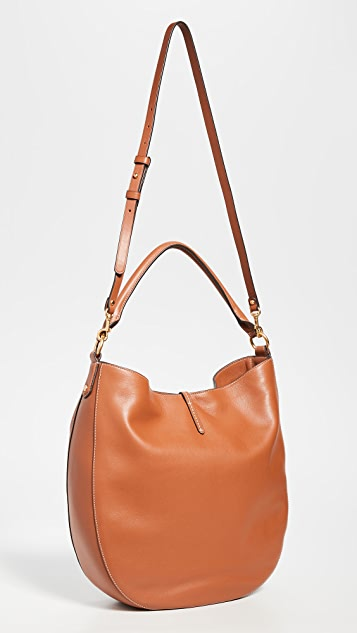Tory Burch Miller Metal Slouchy Hobo Bag