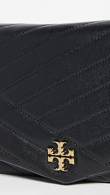 Tory Burch Клатч с рисунком в виде шевронов Kira