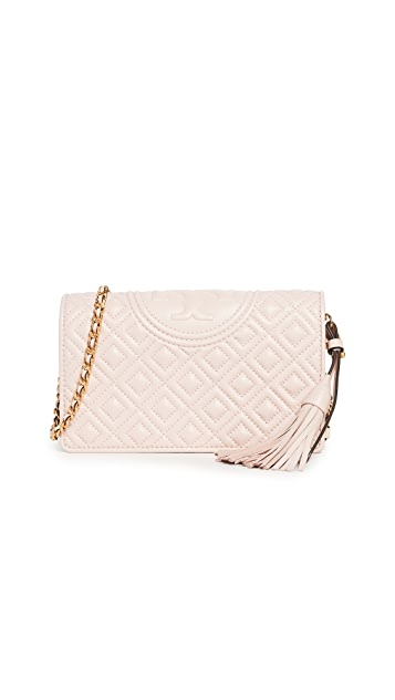 Tory Burch Fleming Wallet Crossbody Bag