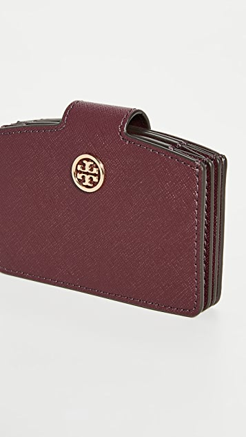 Tory Burch Robinson Accordion Wallet
