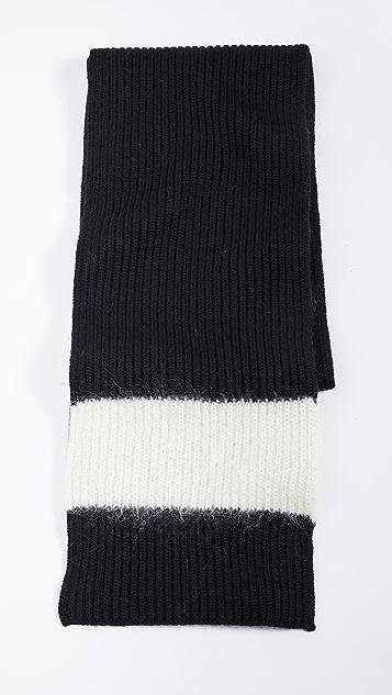 Tory Burch 条纹天空元素围巾