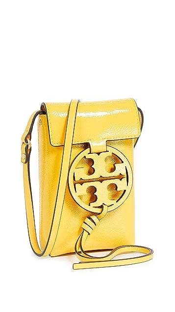 Tory Burch Miller Patent Phone Crossbody Bag