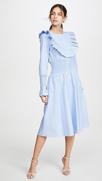 Tory Burch Smocked Dress