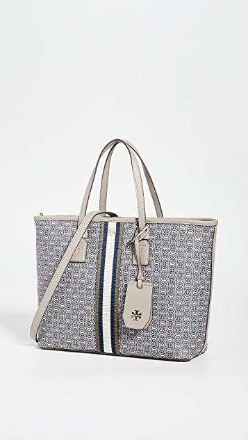 Tory Burch Totes Gemini Link Canvas Small Tote