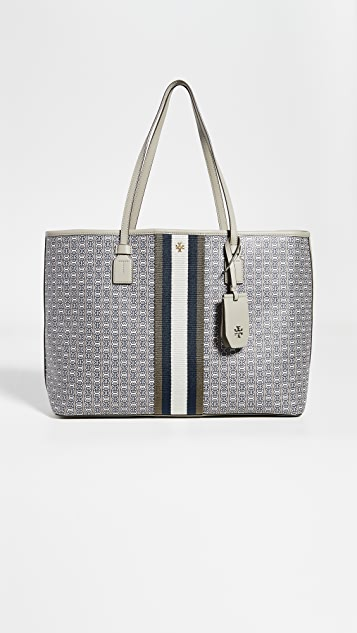 Tory Burch Totes Gemini Link Canvas Tote