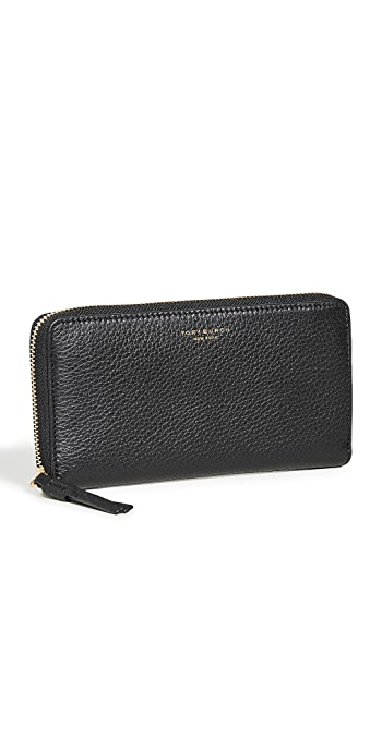 Tory Burch Perry Zip Continental Wallet - Black