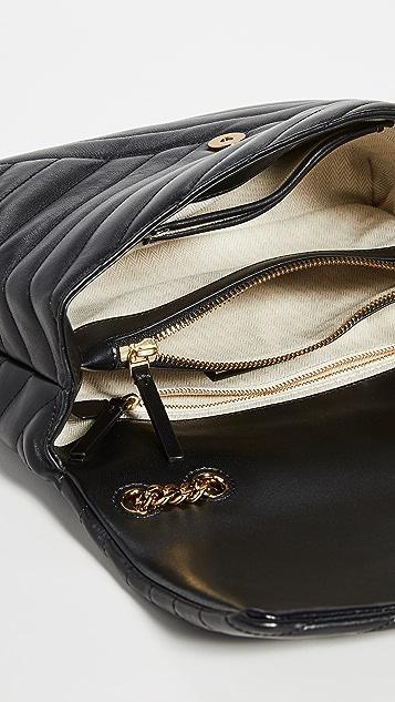 Tory Burch Kira Chevron Convertible Shoulder Bag